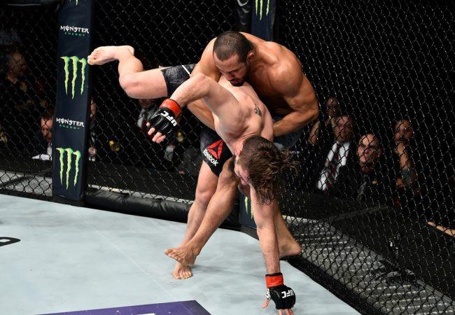 Video: Davi Ramos's takedown and quick finish at UFC Fresno