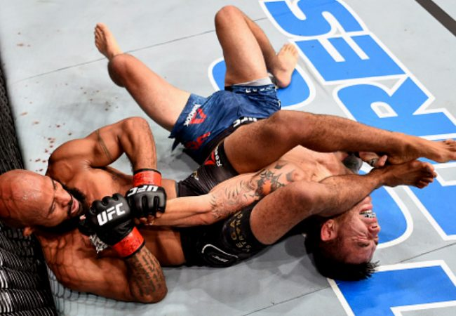 5 submissions that shook the Octagon in 2017
