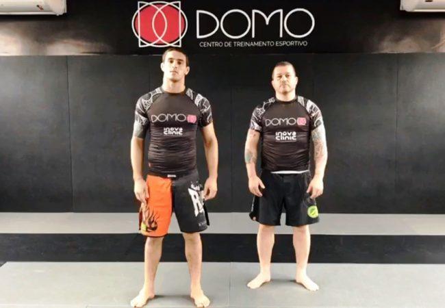 Jiu-Jitsu: 3 passagens de guarda sem kimono na academia Domo