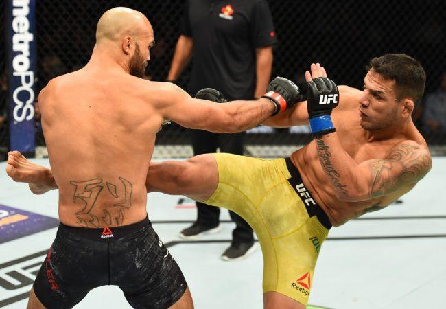 Rafael dos Anjos domina Robbie Lawler e pede chance pelo cinturão do UFC