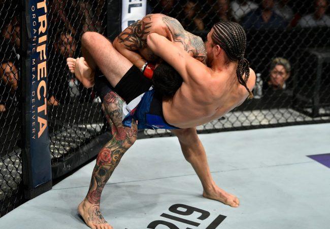 Jiu-Jitsu: A guilhotina insistente de Brian Ortega na luta principal do UFC Fresno