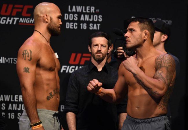 Rafael dos Anjos analisa ponto fraco de Robbie Lawler para vencer no UFC de hoje