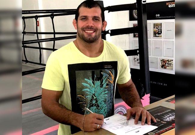 Rodolfo Vieira assina com o ACB para atuar no Jiu-Jitsu e no MMA