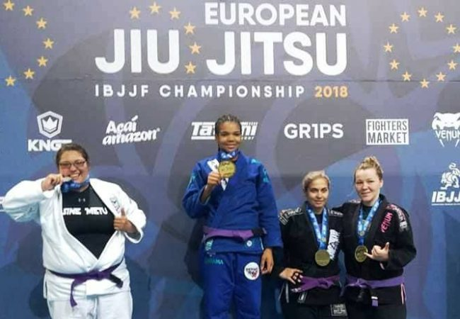 Gabi Pessanha, Thalison and more European champions at blue and purple