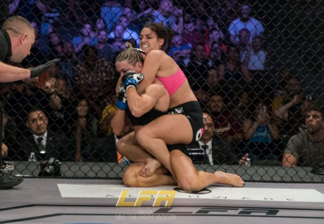 Mackenzie Dern's UFC debut set for March, and this is her opponent