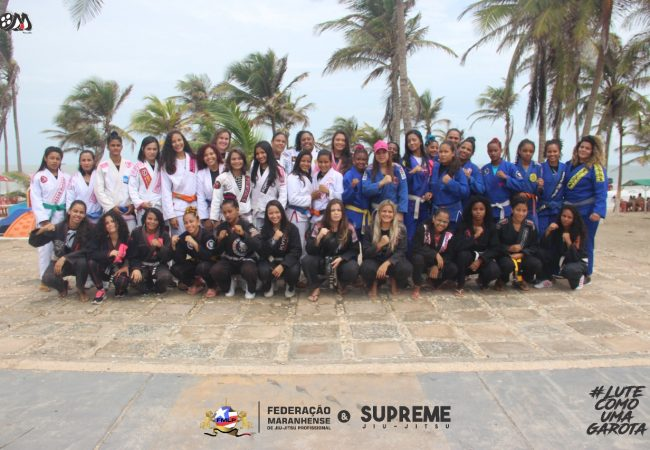 Federação Maranhense de Jiu-Jitsu organiza torneio só para mulheres, em São Luis