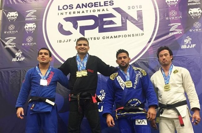 Gustavo Braguinha, Nathiely de Jesus win double gold at L.A. Open