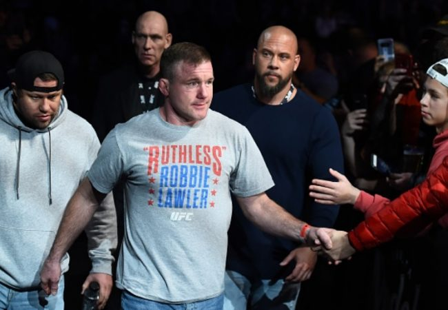 Video: Matt Hughes walks up to the Octagon once again