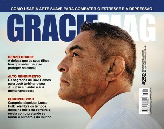 GRACIEMAG #252 – Rickson Gracie e o novo desafio do Samurai