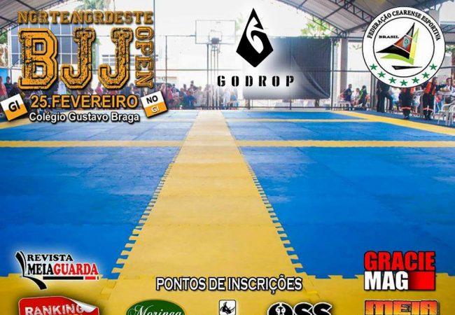 Norte/Nordeste BJJ Open agita Fortaleza no próximo domingo; inscreva-se já!