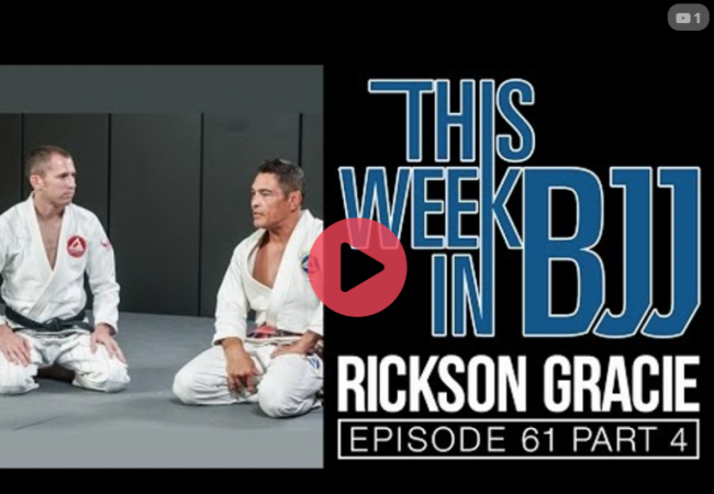 Rickson Gracie — How to escape the mount