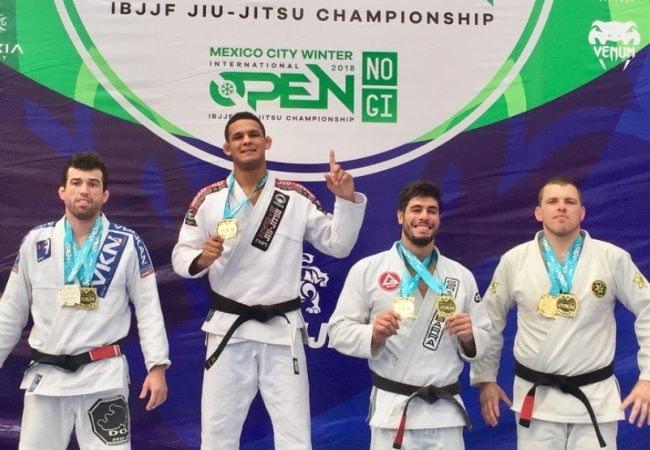 Fellipe Andrew and Cláudia do Val win double gold at Mexico City Open