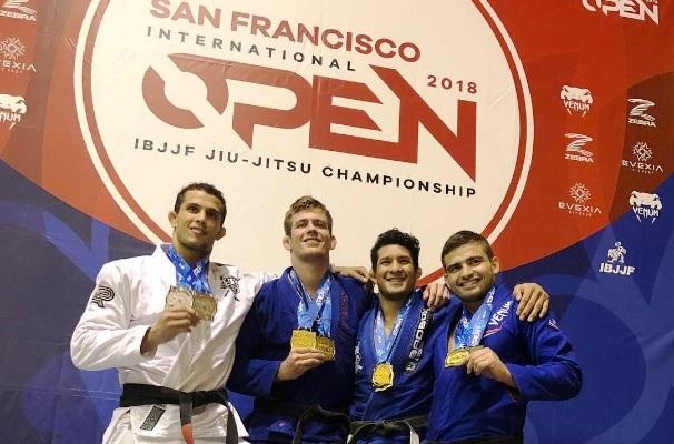 Atos domina divisão faixa-preta do San Francisco Open de Jiu-Jitsu