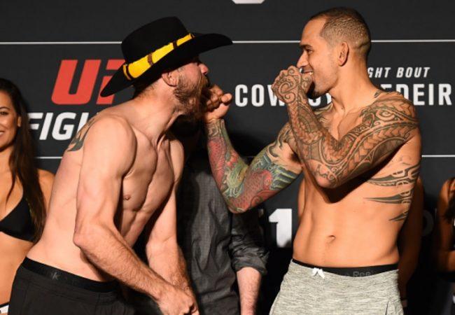 Cowboy Cerrone e Yancy Medeiros analisam luta principal do UFC deste domingo