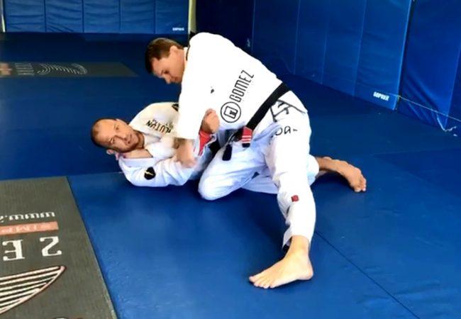 Como anular a passagem deslizando o joelho no Jiu-Jitsu, com professor Rodrigo Medeiros