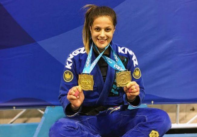 Nathiely de Jesus e dobradinha da Alliance com ouro duplo no Atlanta Open de Jiu-Jitsu