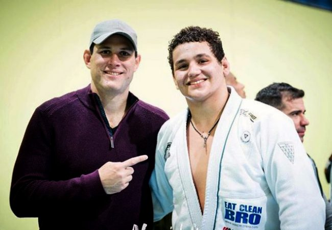 Video: Roger and Rayron Gracie rolling together