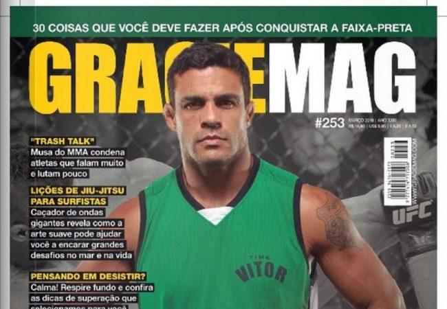 GRACIEMAG #253 – A despedida de Vitor Belfort