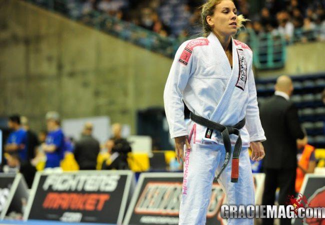 Luiza Monteiro's surprise foot lock at the San Francisco Open