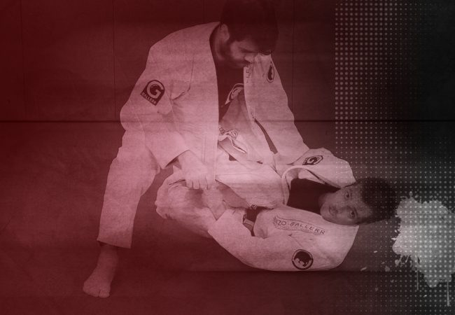 Learn how to attack from half-guard, at Renzo Gracie Online Academy