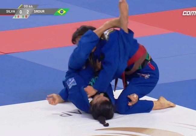 Ana Carolina Vieira's technical armbar at Abu Dhabi Grand Slam London