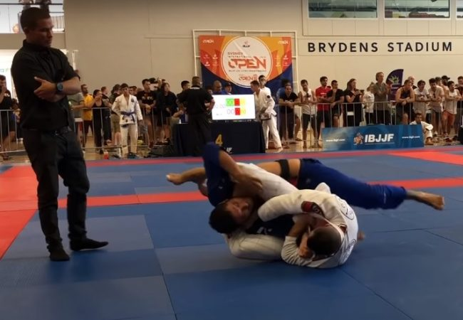 Video: William Dias' two golden armbars at the Sydney Open