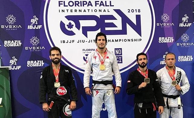 Jiu-Jitsu: O estrangulamento campeão de Servio Tulio no Floripa Open