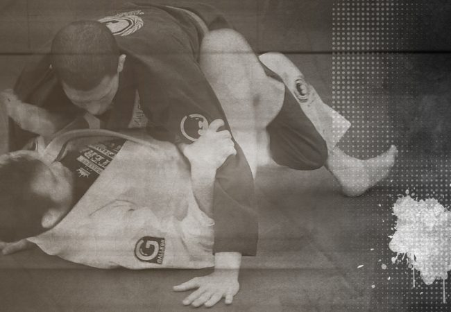 The turtle position at Renzo Gracie Online Academy