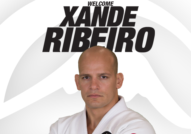 Xande Ribeiro is now part of the Fuji Sports Team