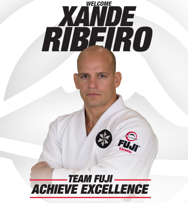 Xande Ribeiro is now part of the Fuji Sports Team | Graciemag