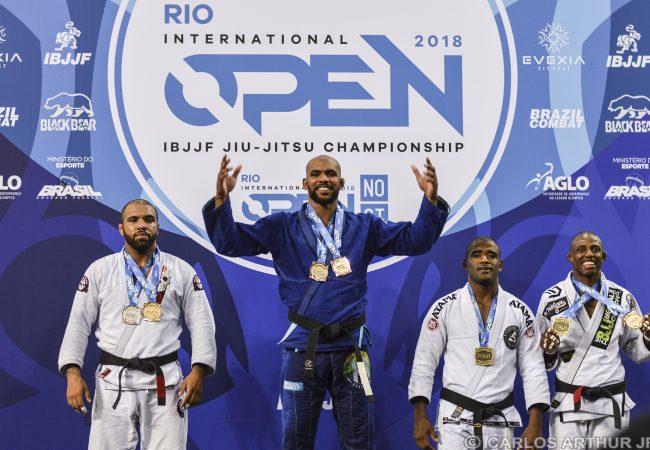 Erberth Santos volta a vencer e fatura peso e absoluto no Rio Open de Jiu-Jitsu