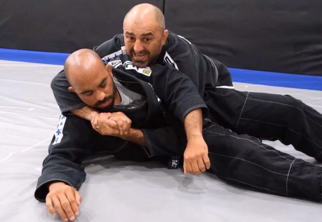 Rafael Gordinho ensina transição do cem-quilos para o mata-leão no Jiu-Jitsu