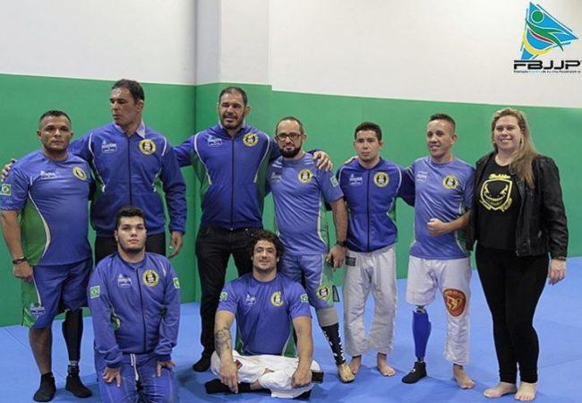 Com Rodrigo Minotauro e Rogério Minotouro, Parajiu-Jitsu é apresentado no Centro Paralímpico Brasileiro