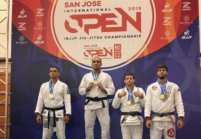 Yuri Simões wins absolute gold at San Jose Open