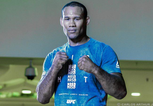 Vídeo: Ronaldo Jacaré e seu Jiu-Jitsu afiado no treino aberto do UFC 224, no Rio