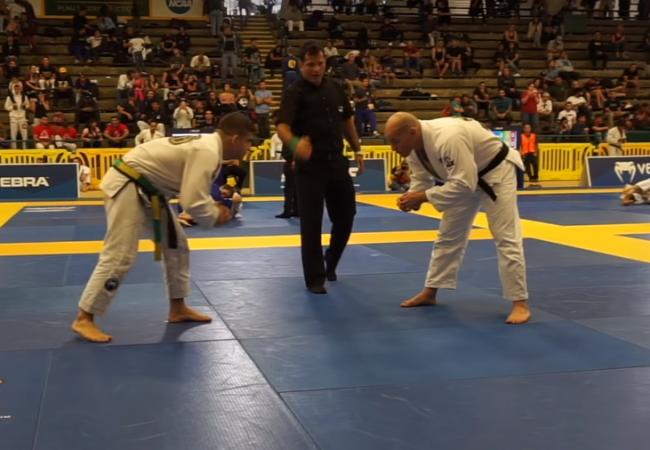 Vídeos: Gustavo Braguinha bate Xande Ribeiro no pesado e finaliza absoluto do San Diego Open de Jiu-Jitsu