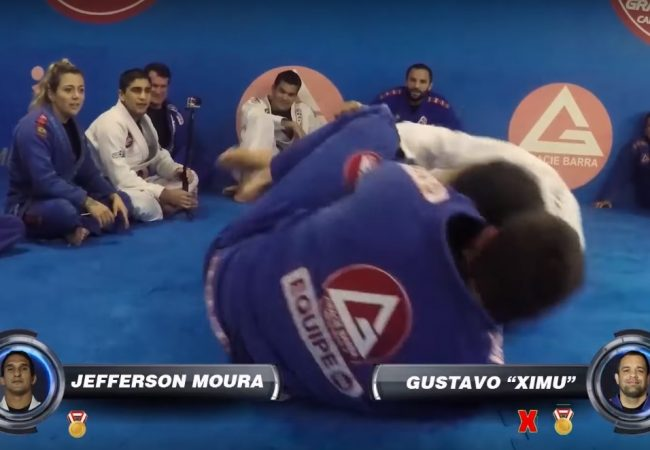 Video: Desafio Dojjo's frantic 1-minute matches at Gracie Barra HQ