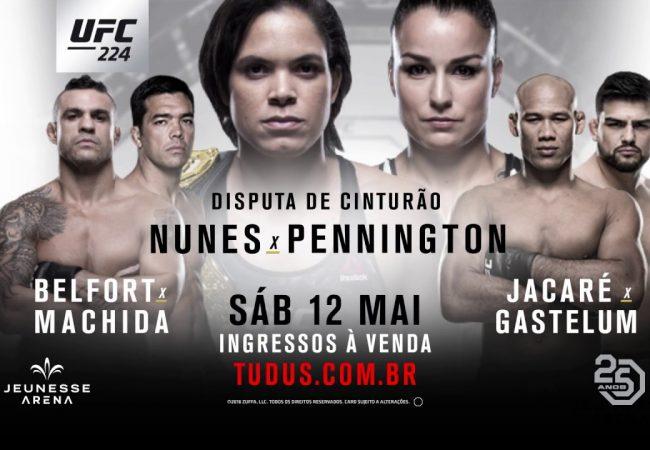 9 curiosidades no aquecimento para o UFC Rio 9, com Vitor Belfort, Ronaldo Jacaré e Amanda Nunes