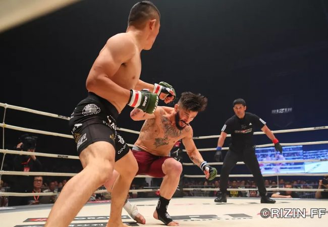 Vídeo: Veterano do UFC é nocauteado em 9s no Rizin FF 10