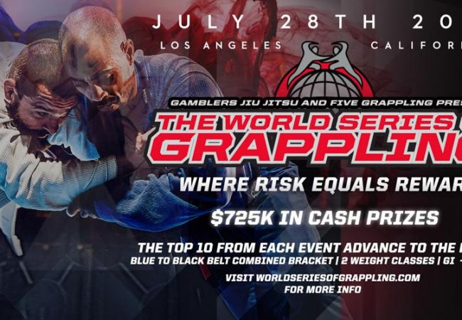 World Series of Grappling to premiere July 28 in L.A.