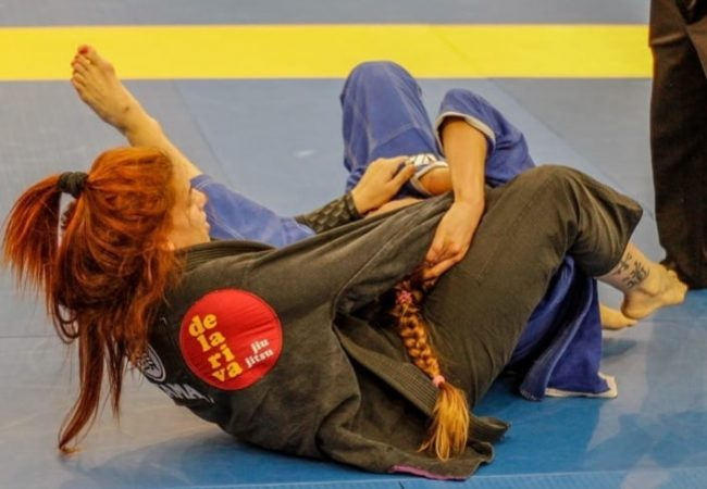 Claudia do Val's choke at the Spanish National