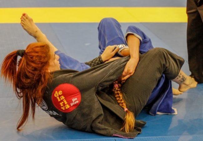 Claudia do Val's choke at the Spanish National