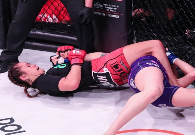 Bellator champion Ilima-Lei MacFarlane's finishing style