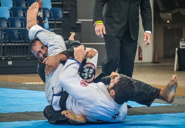 The flying armbar for gold at the Carlson Gracie Championship