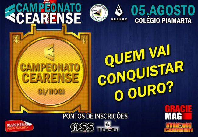Campeonato Cearense de Jiu-Jitsu estende desconto até dia 28 de julho; inscreva-se já