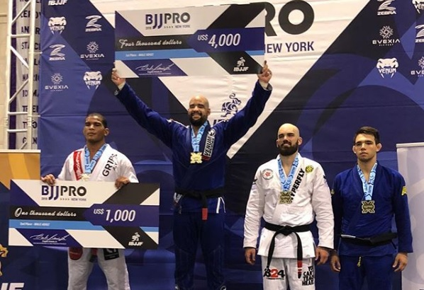 Gimenis, Kaynan, Ribamar, Jamil Hill stand out at NY BJJ Pro