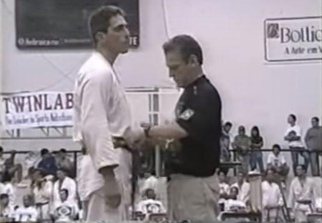 Vídeo: Reveja mestre Leão Teixeira em campeonato de Jiu-Jitsu, há 25 anos