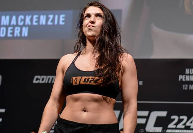 Interview: Mackenzie Dern on the lessons learned trying to cut weight for UFC 224