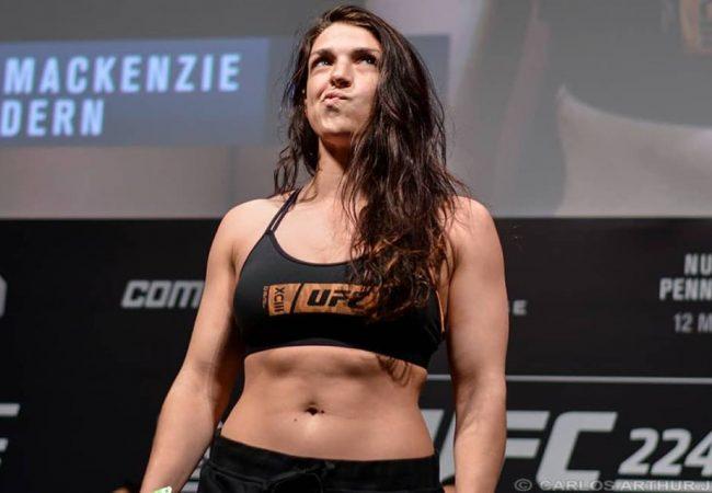 Campeã no Jiu-Jitsu, Mackenzie Dern revela suas lições do corte de peso para o UFC