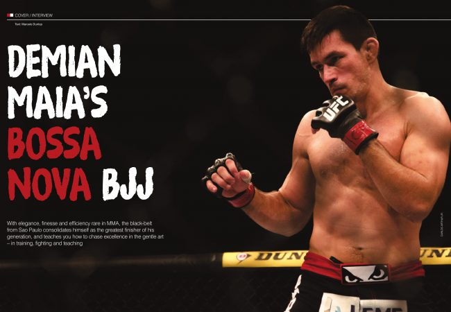 Demian Maia's bossa nova BJJ
